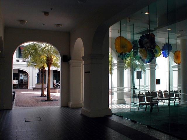 Singapore: Museums: Modern Art Museum Interior