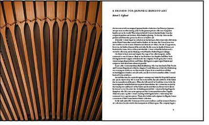 bamboo baskets book spread