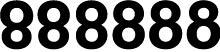 typographic illusions: eights
