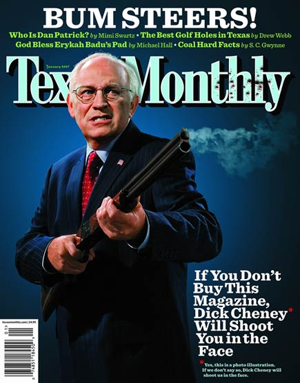 texas monthly magazine cover