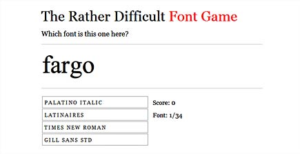 difficult type game