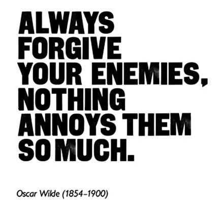 wilde on forgiveness