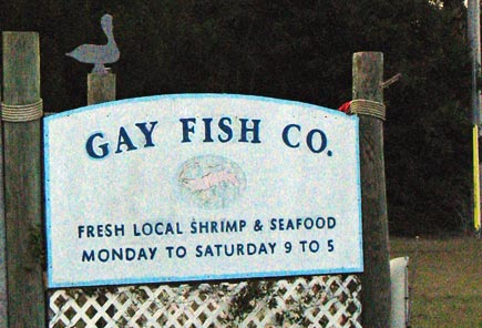 gay fish company on lady's island. The area is characterized as subtropical, ...