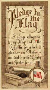 original pledge of allegiance