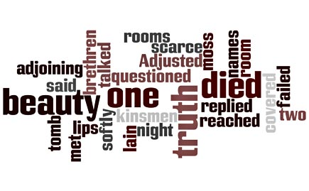 i died for wordle by emily dickinson