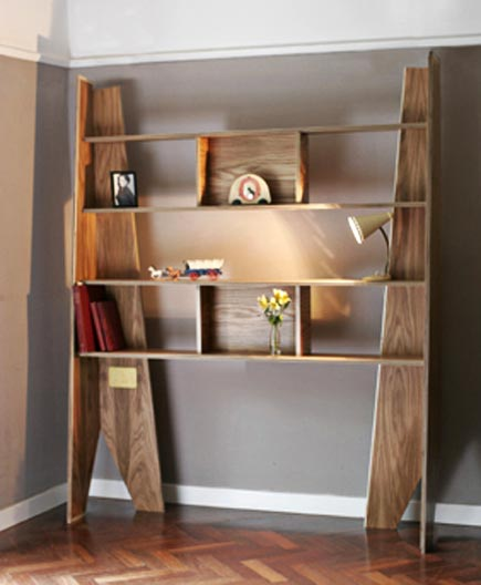 coffin bookshelves
