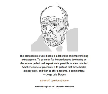 jorge luis borges on imaginary books