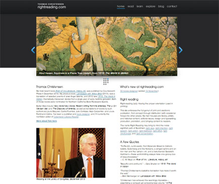 960-grid former home page at rightreading.com