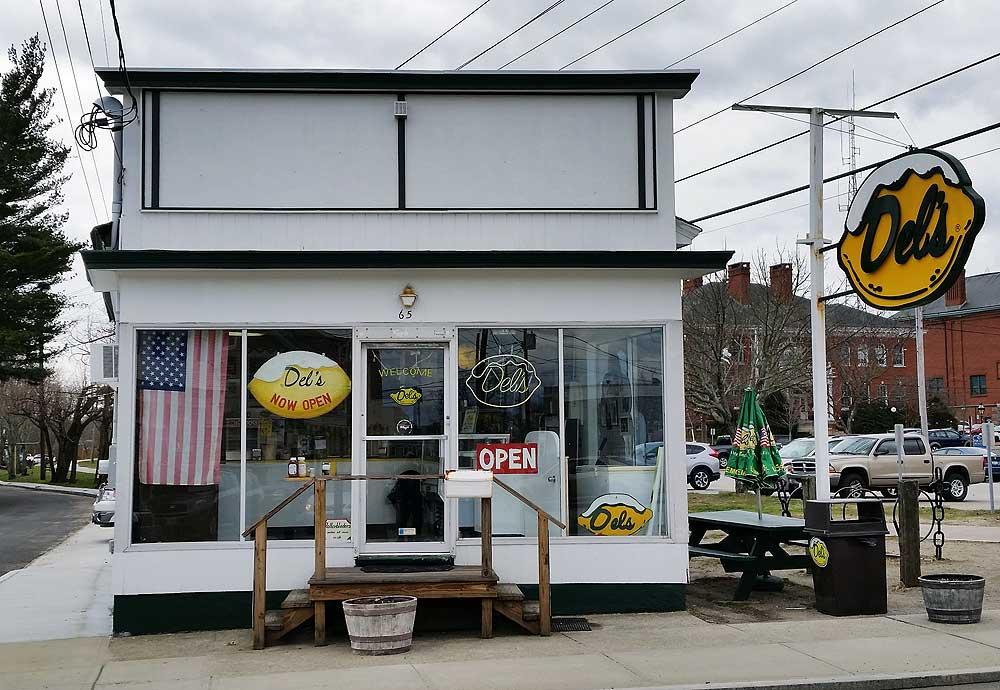 Del's, Warren, RI.
