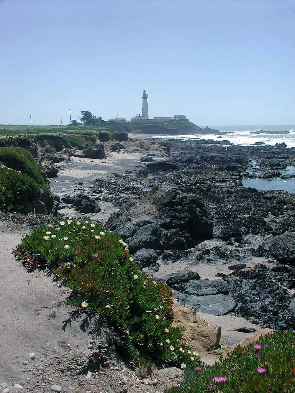 Pigeon Point Lighthouse, Pescadero, CA.