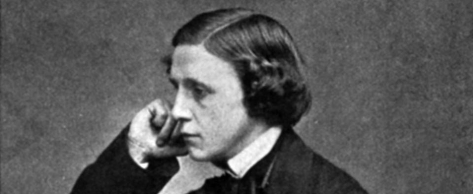 Lewis Carroll at age 23