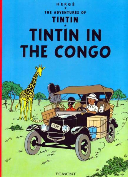 tin tin in the congo