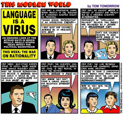 language is a virus