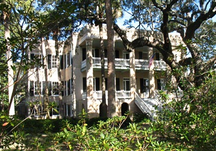a historic house in beaufort, south carolina