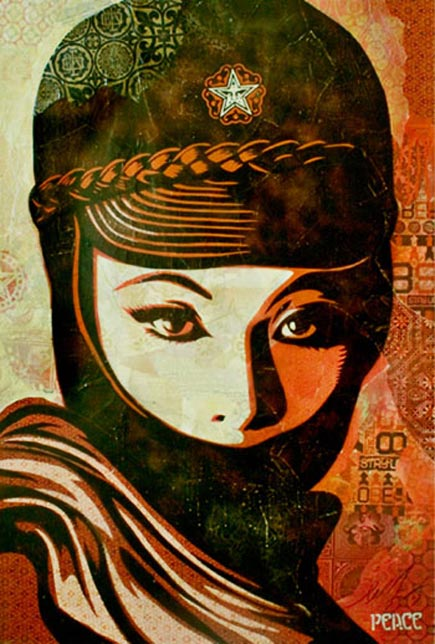 mujer fatal by shepard fairey
