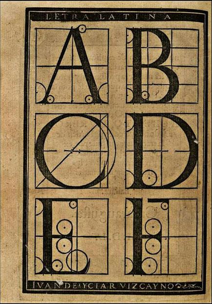 Arte Subtilissima, por la Qual se Enseña a Escreuir Perfectamente' (The most delicate art of teaching a perfect hand), 1550 by Juan de Icíar