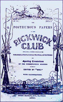 the pickwick club, a serial publication