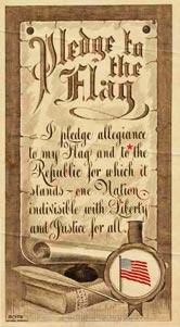 original pledge of allegiance