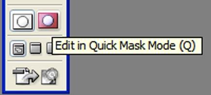 tilt-shift quick mask