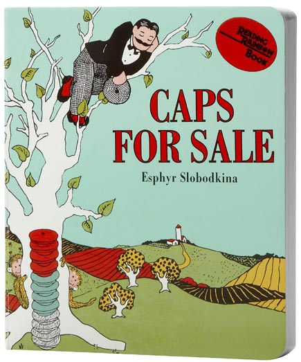 caps for sale cover