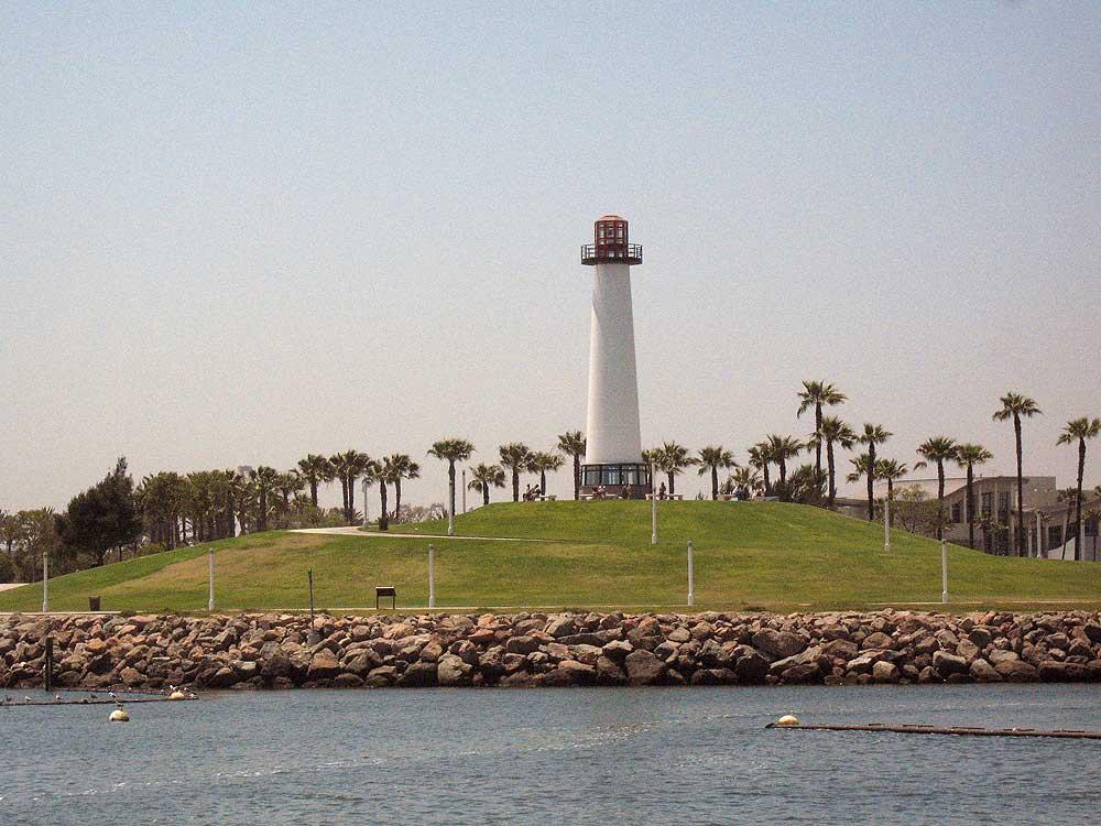 Long Beach Harbor Lighthouse.