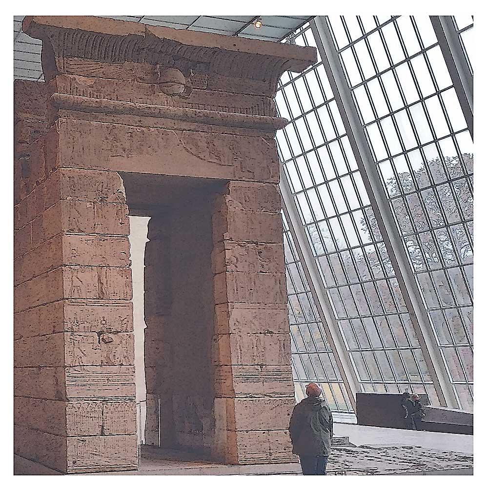 Temple of Dendur, Metropolitan Museum, New York City.