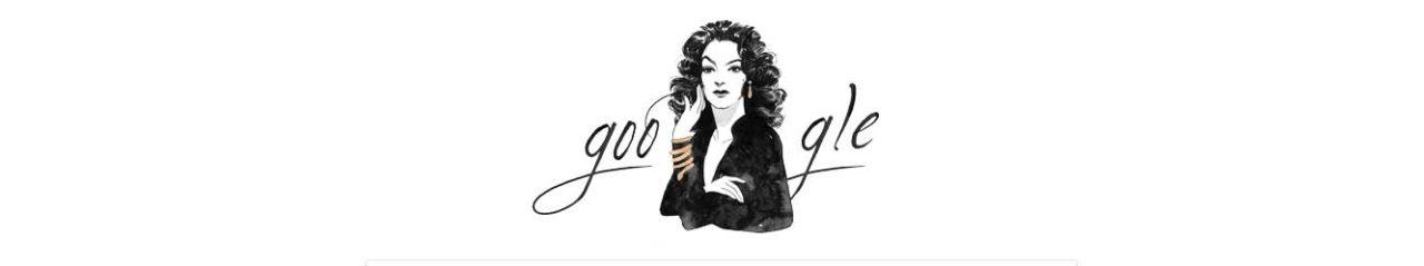 Maria Félix Google doodle