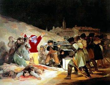 The Martrydom of Nicholas, by Francisco de Goya and Thomas Christensen
